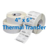 4x6 Thermal Transfer Labels