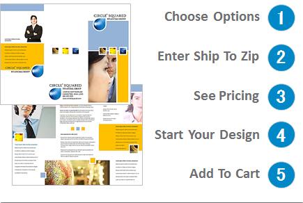 brochure printing design online 8 5 x 11 tri fold