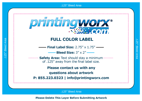 2.75 x 1.75 full color label template