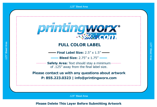 2.5 x 1.5 full color label template
