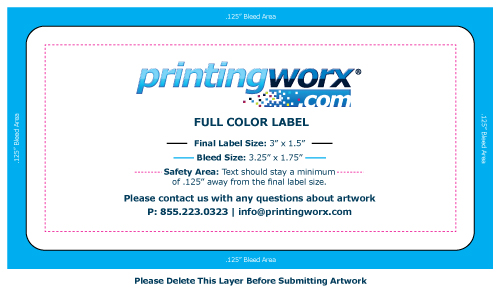 3 x 1.5 full color label template