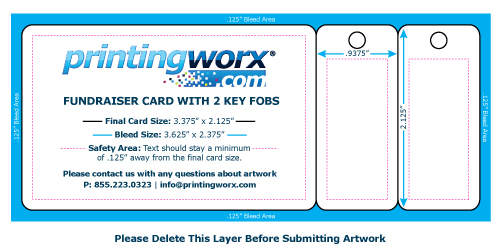 fundraising cards templates