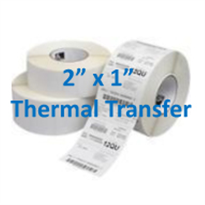 Thermal Labels 2 X 1 Transfer