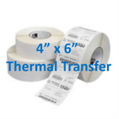 Thermal Labels Transfer - 4 X 6